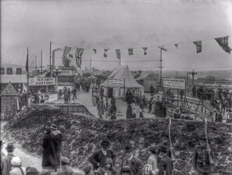 ca1918 CVA 260-1051 - [The Georgia Viaduct closed to traffic during a carnival showing military displays and a refreshment stand]  Jms Crookal.jpg