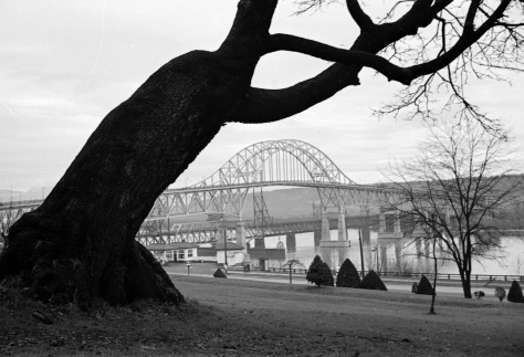CVA 260-789 - View of the Pattullo Bridge (New Westminster). James Crookall photo, ca1938.