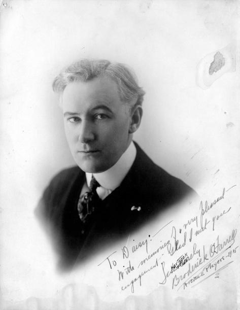 ca 1915 CVA 19-73 - [Signed portrait of fellow actor Broderick O'Farrell %22To Daisy%22] Hartsaak Photo