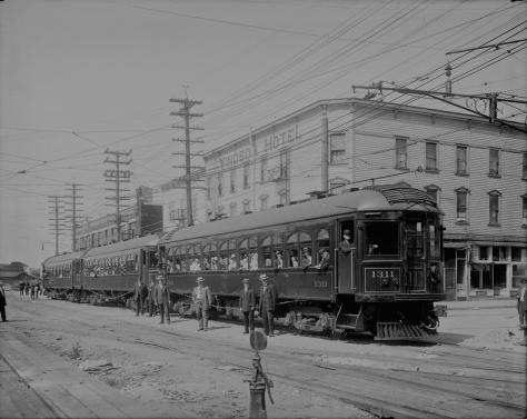 1910? - LGN 949 - [B.C. Electric Railway Company Fraser Valley Railway line cars]