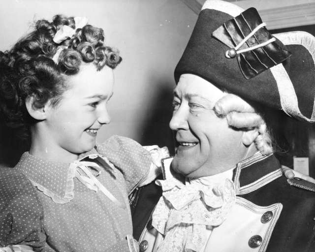 St Pk N103 - [John C. Thomas playing Captain George Vancouver at a pageant to celebrate Vancouver's Diamond Jubilee at Brockton Point] 1946.