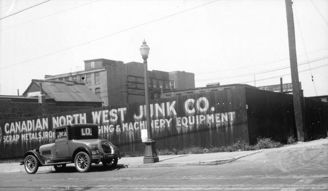 CVA City N6 - Canadian Northwest Junk Co., 1931.