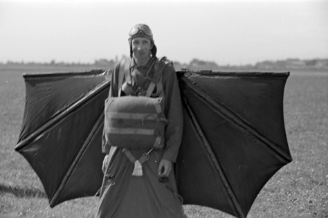 Ready for take-off. James Crookall photo, 1937.