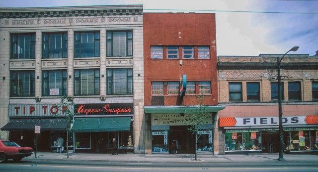 CVA 778-140 - 300 West Hastings Street north side-2. 1974.