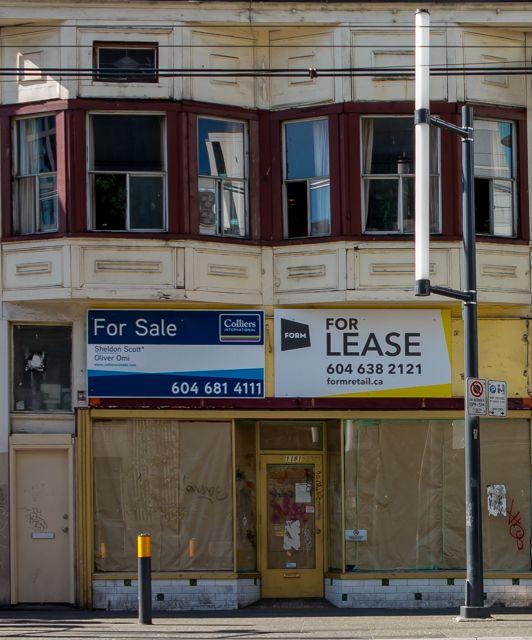 1181 Granville Street. ca2013. Author's photo.