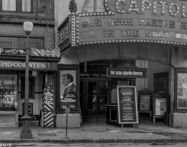 Detail of CVA 1399-540 - [Photograph of Capitol Theatre], ca 1926.