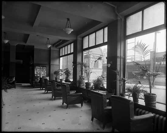 vpl 20020 Lobby of the St. Regis Hotel. 1915. Dominion Photo