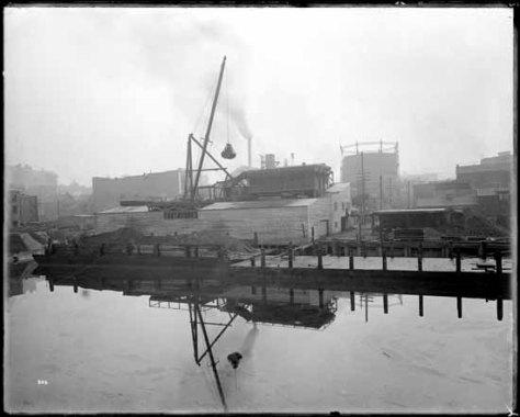VPL 20205 Van Gas Co Exterior, 1914 Dominion photo.