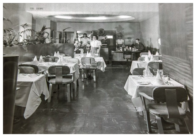 VPL 83118 Arctic Club interior series. 724 West Pender Street. 1948. Artray Studio.