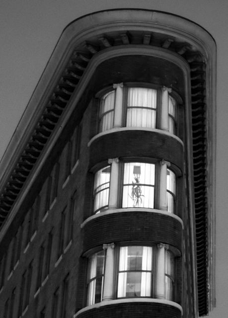 Former Hotel Europe. 43 Powell Street.. ca 2011. Author's photo.
