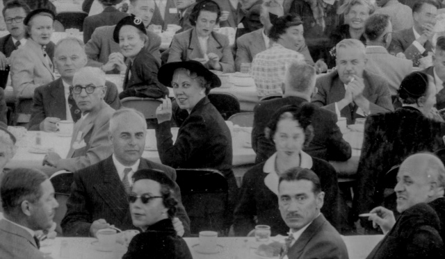 Detail of VLP 48.3 - The Canadian Bar Association 34th Annual Meeting (Buffet Dinner at U.B.C. Library Lawn) 1952, Fred W. Sunday