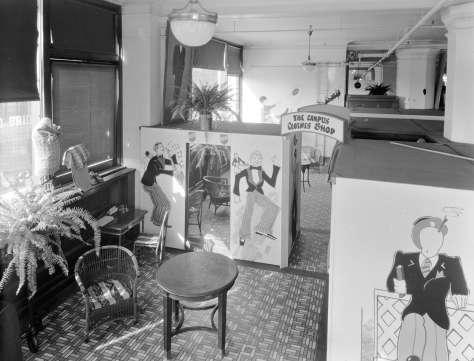 CVA 99-4073 - Hudson's Bay Company [interior of store at 674 Granville Street] 1931 Stuart Thomson photo.
