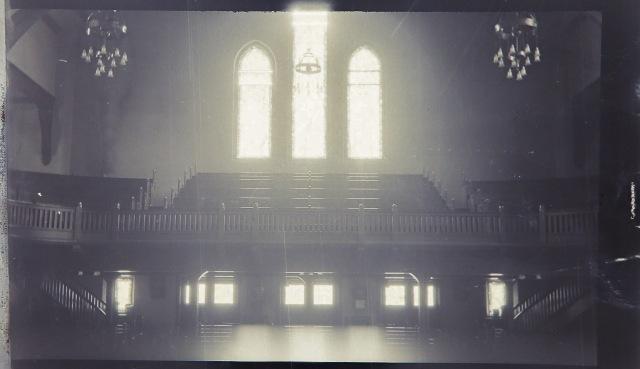 Pre 1931 Fire interior FBC Sanctuary