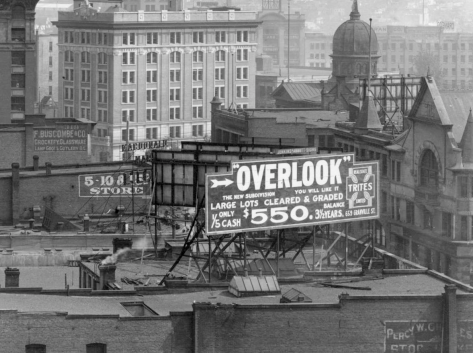 Detail of CVA 371-726.2 - [Looking southwest along Cordova Street from Carrall Street] ca 1913.
