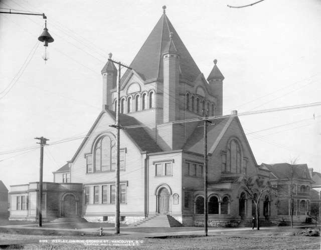 Ch P91 - Wesley Church, Georgia [Street] 1901:02 R H Trueman photo