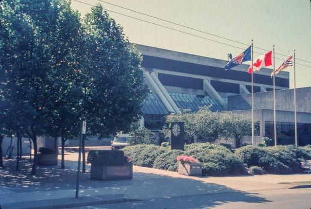 CVA 784-092 - CBC Plaza, 700 Hamilton Street, Vancouver. 1986.