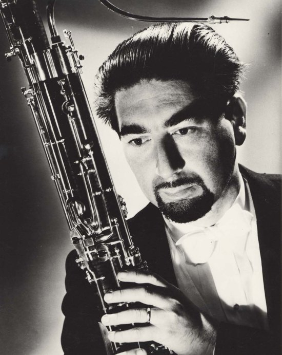 Jewish Museum & Archives of BC. Item L.00112 - George B. Zukerman, internationally acclaimed solo bassoonist 1951.