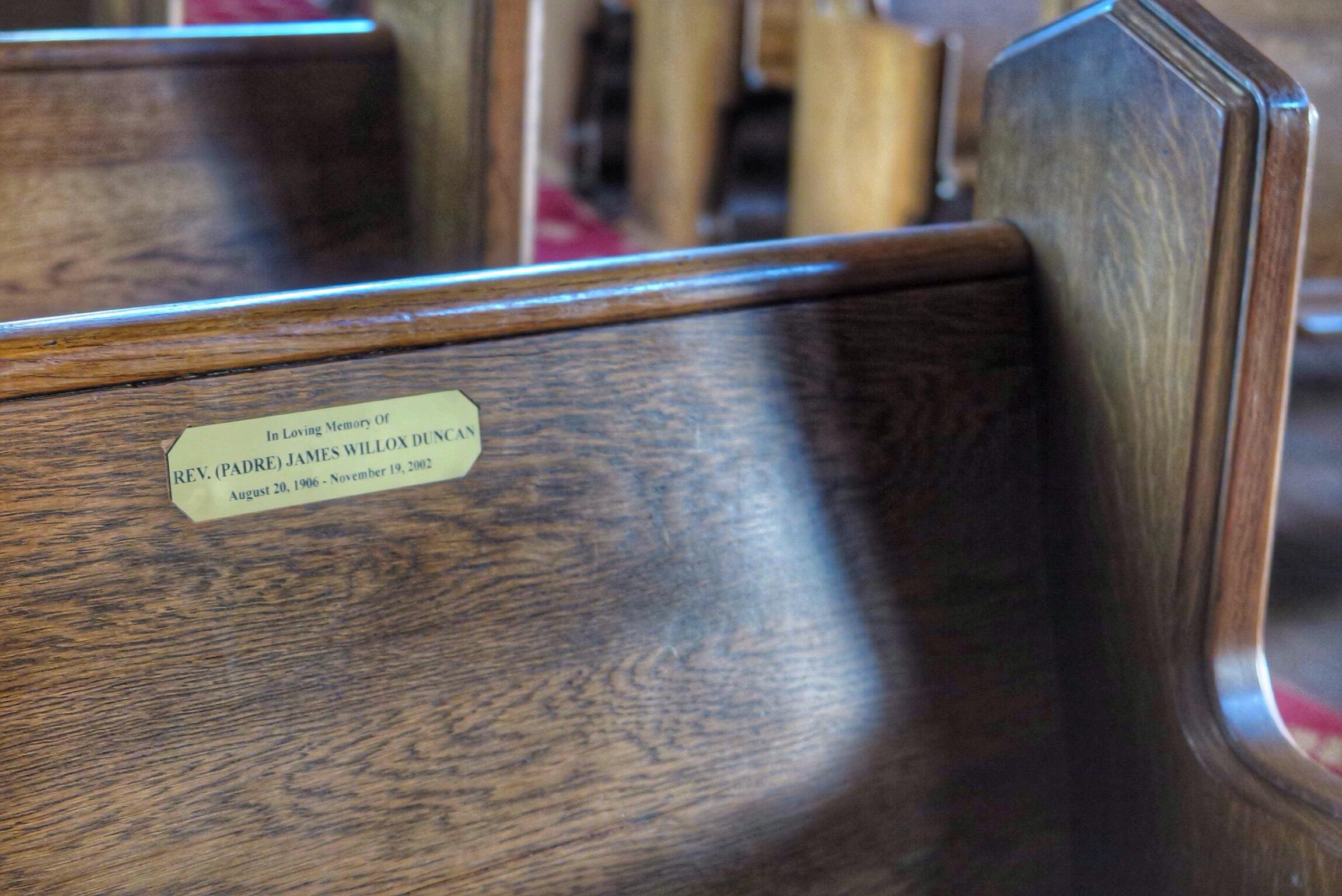 Sanctuary Padre's seat