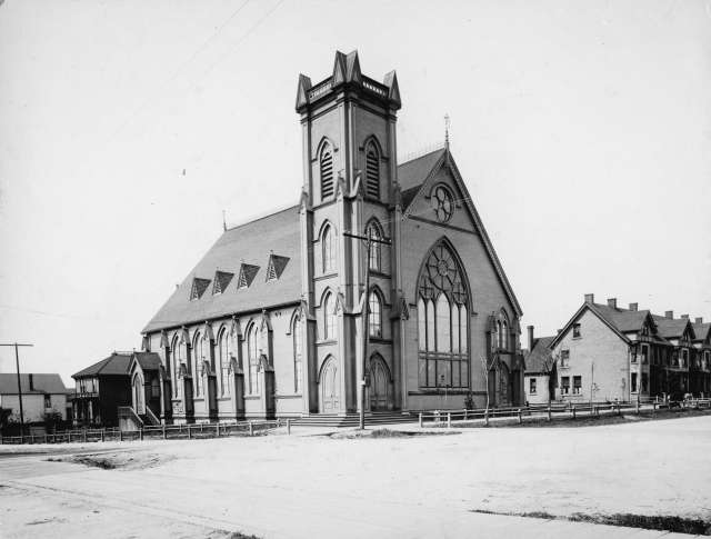 CVA 677-413 - First Congregational Church [500 Georgia Street] ca 1905.