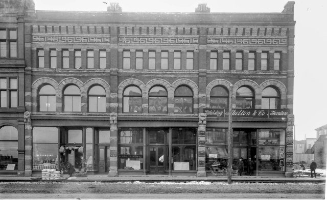 SGN 14 - [Businesses at 500 block of West Hastings Street] 189-? Charles S Bailey