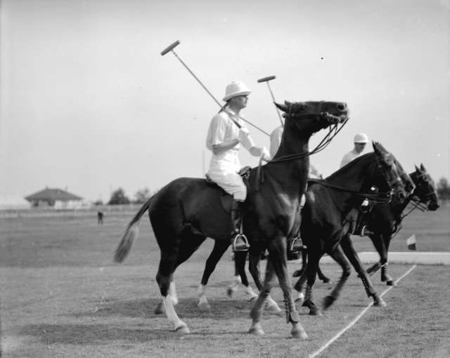 CVA 99-2008 - Visit of Prince Henry, Duke of Gloucester, polo game (Saddled Up) 1929 Stuart Thomson