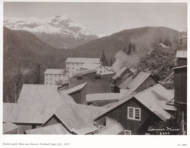 Premier Mine near Portland Canal, BC 1927. Leonard Frank photo