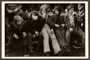 "VPL 86863 ""Teenage boys with cigarettes"". NIna Raginsky. 1972."