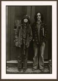 "VPL 86864 ""Young couple in doorway"". Nina Rajinsky. 1972."