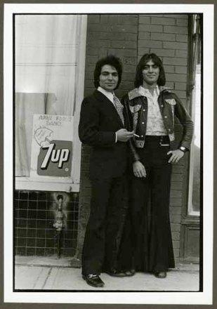 "VPL 88619 ""Portrait of two men"". Nina Raginsky. 1972."