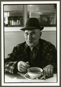 "VPL 88666 ""Portrait of a man in a cafe"". Nina Raginsky. 1972."