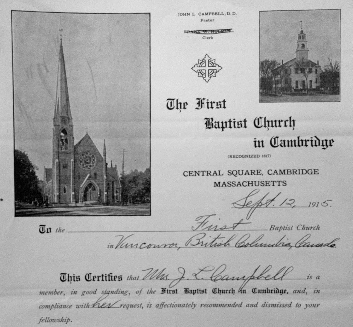 Church membership transfers vancouver as it was a photo e membership transfer form completed by the clerk probably a clerk pro tem since the name of the clerk was scratched out on this form at fbc cambridge altavistaventures Choice Image