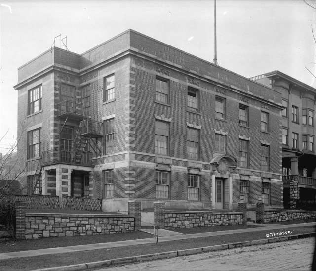 CVA 99-225 - Children's Hospital - Haro Street 1919 Stuart Thomson