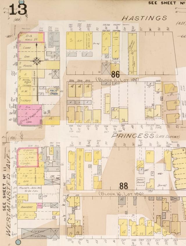 Sheet 13 Goads 1897