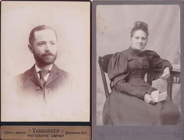 Albert Edward Beck and his mother, Mary Beck (nee Cooper)
