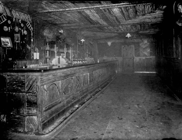 Hot P5 - [Interior of Poodle Dog Hotel bar on Cordova between Cambie and Abbott Streets] ca1898