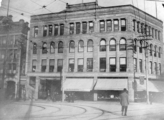 M-3-27.5 - [Flack Block, northeast corner of Hastings and Cambie] 190-?