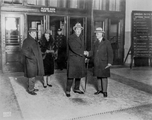 CVA 1477-151 - [Visit of Australian Premier Bruce] ca1926 Dominion Photo