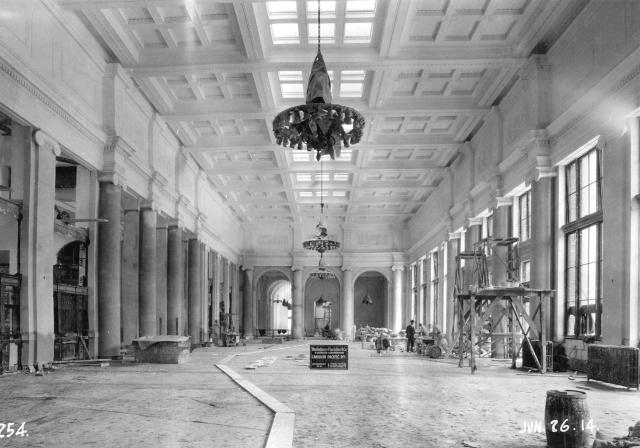 CVA 152-1.094 - [Construction progress photograph of the third CPR station] 26 JUne 1914