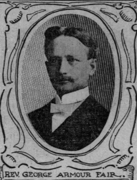 Chicago Tribune. 23 June 1901 p. 6 Portrait of Geo. A. Fair