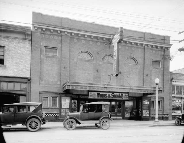 Bu N331 - [Kerrisdale Theatre building at 2136 West 41st Avenue] 1927 W J Moore