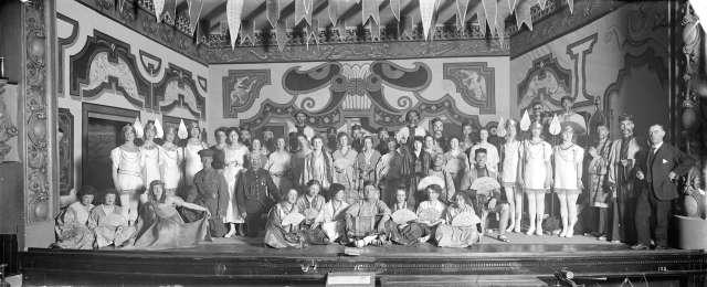 CVA 99-5180 - The Arcadians at San Toy - Avenue Theatre 12 Apr 1918 Stuart Thomson