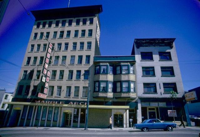 CVA 778-372 - 500 Richards Street east side 1974