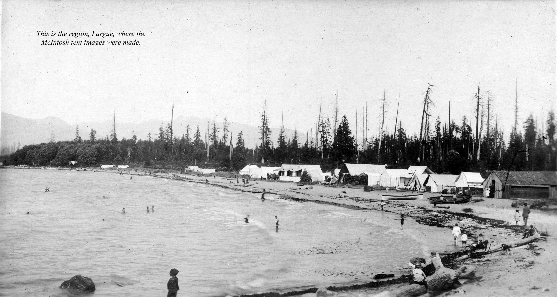 Be P99 - [Greer's Beach (Kitsilano Beach)] ca 1900
